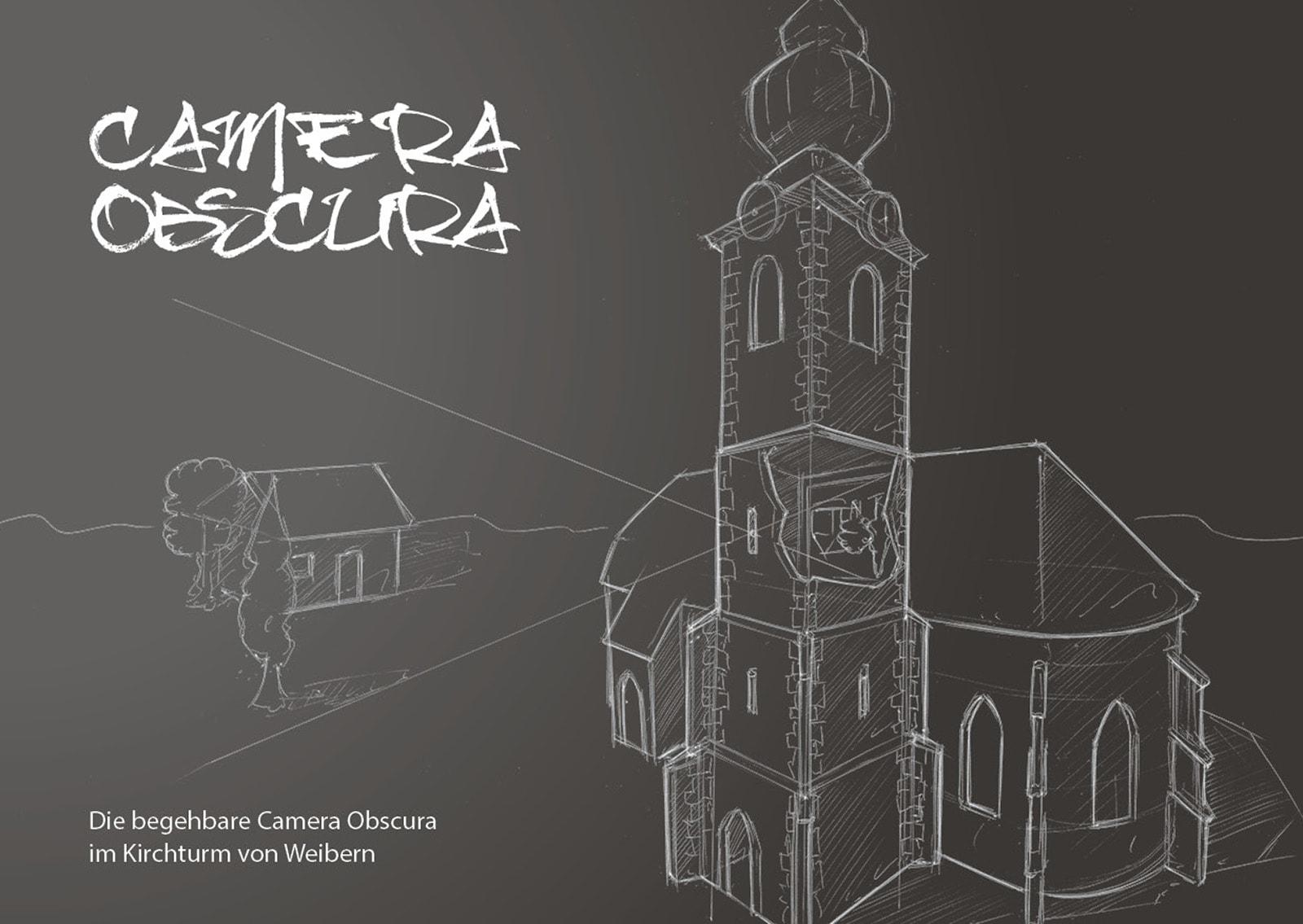 Camera Obscura im Kirchturm von Weibern