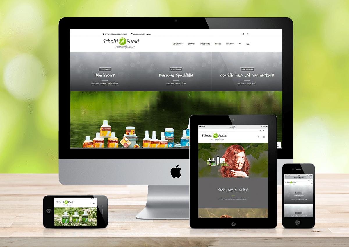 WebSite Schnitt-Punkt Naturfriseur