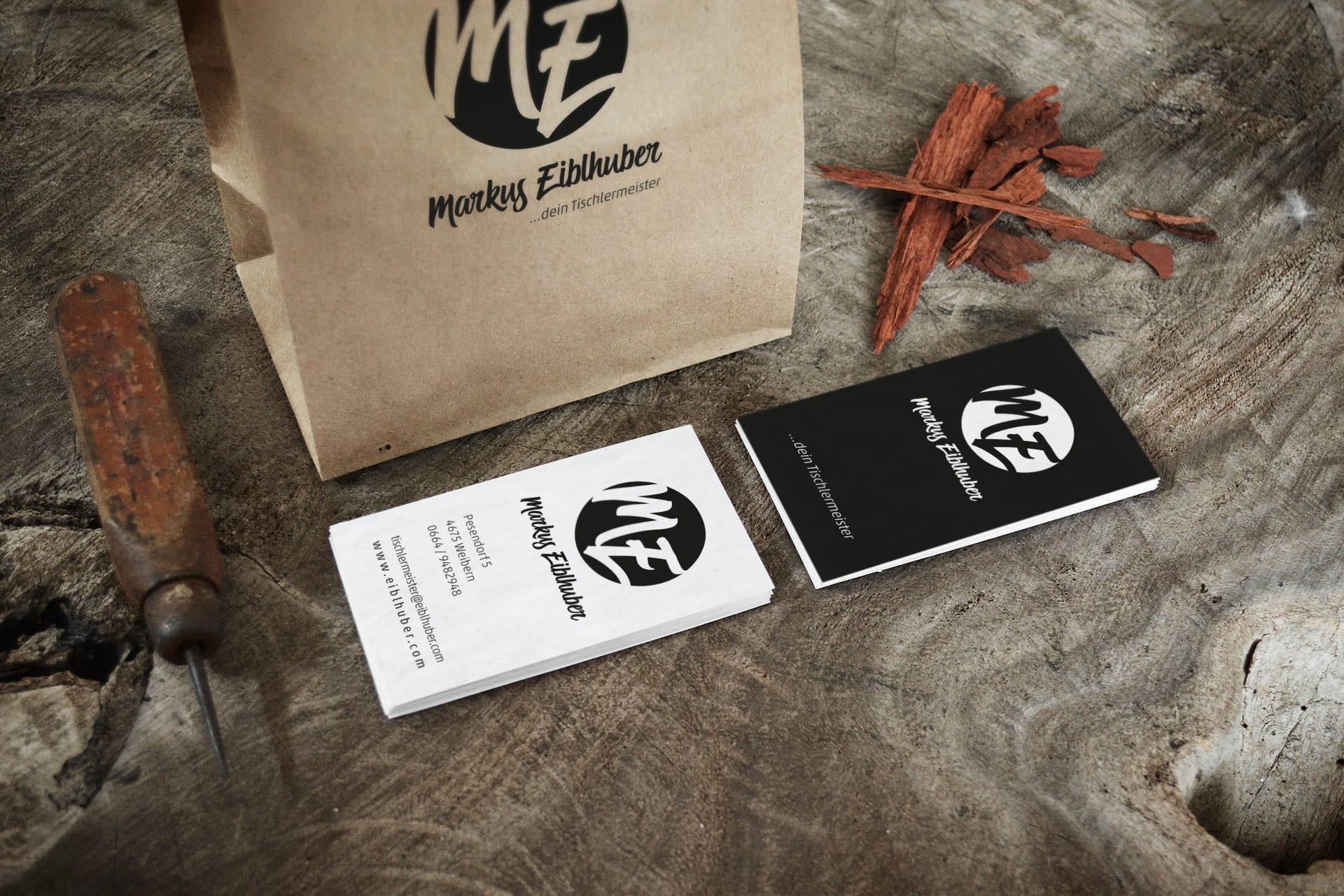 Corporate Design Markus Eiblhuber - dein Tischlermeister